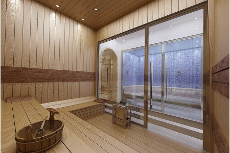 Sauna-Hamam-Buhar Odası - Sauna Hamam Buhar Odası - 38